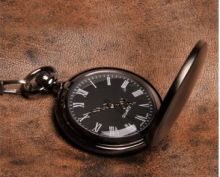 Gunmetal Pocketwatch