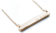 Mental Health Awareness Necklace (Gold-silver also available) $42
