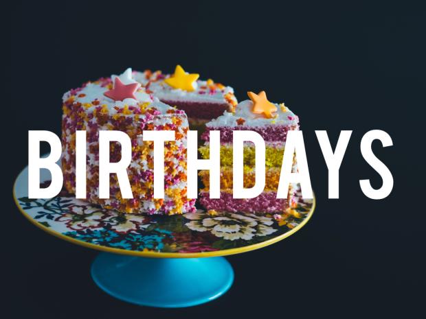 Posts about Birthdays